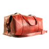 elvis kresse rescued firehose weekend bag red side
