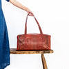 elvis kresse rescued firehose weekend bag red size