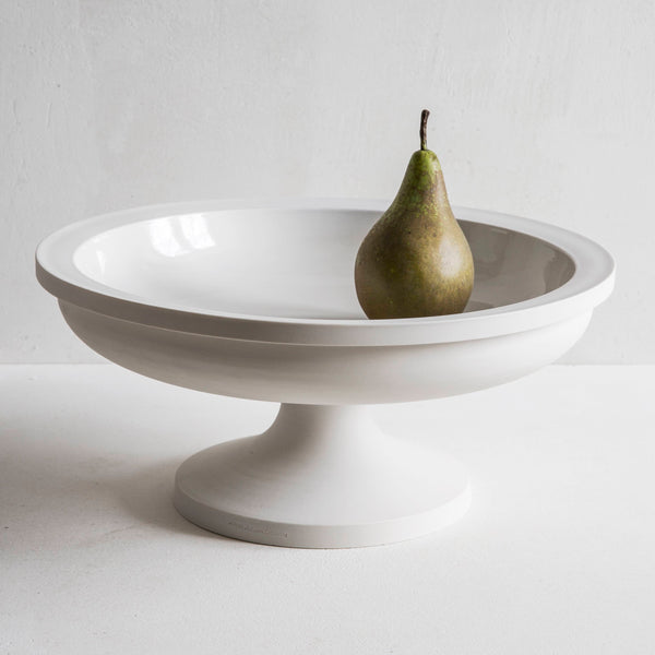 John Julian porcelain fruit stand short