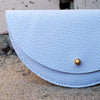 Jude Gove Leather Coin Purse Blue Detail