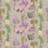 newton paisley wallpaper cactus Mexicanos blush