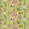 newton paisley wallpaper cactus Mexicanos limon