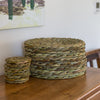 felicity irons rush matters woven bread basket craftsmans cottage