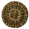 woven rush tablemat natural felicity irons round