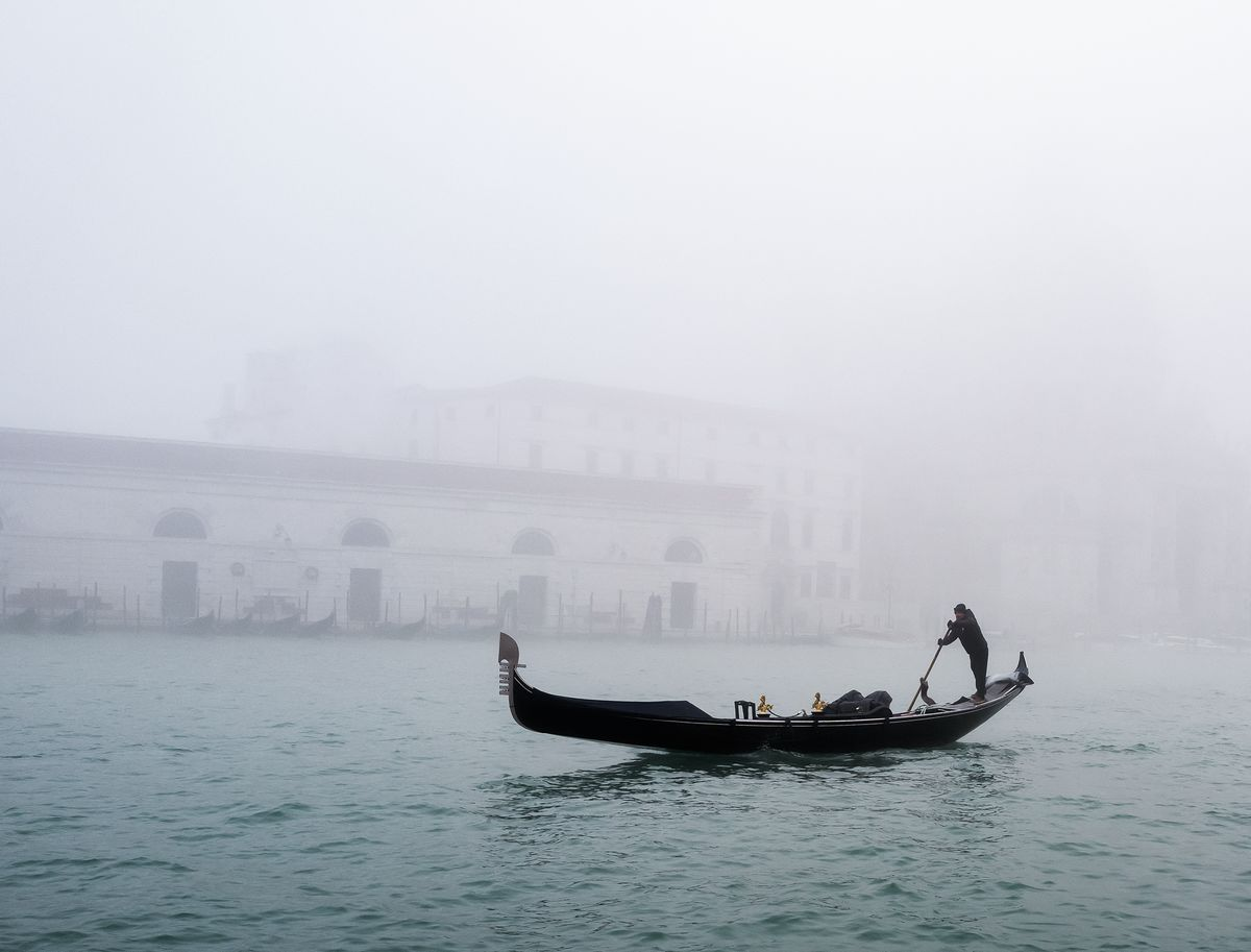 Mist on the Grand Canal