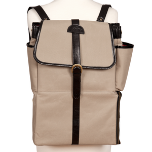 Easoto Commute Backpack Sturdy Matte Camel Front