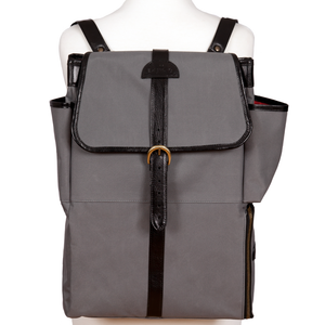 Easoto Commute Backpack Sturdy Matte Grey Front