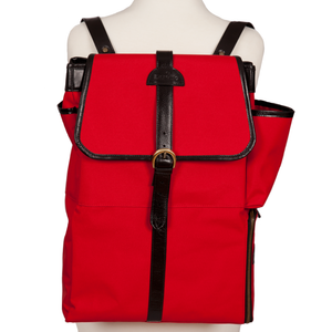 Easoto Commute Backpack Sturdy Matte Red Front