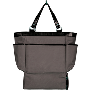 Easoto Travel Carryall Sturdy Matte Grey Front