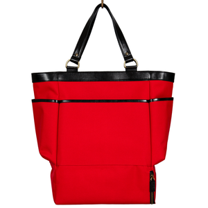 Easoto Travel Carryall Sturdy Matte Red Front