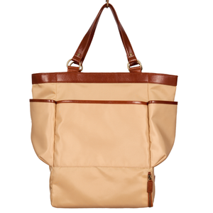 Easoto Carryall Tote Soft LoSheen Tan Front