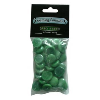 Gaming Counters Green 30