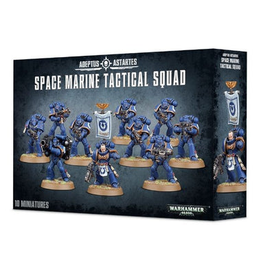 Warhammer 40000: Adeptus Astartes Space Marine Tactical Squad
