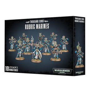 Warhammer 40000: Thousand Sons Rubric Marines