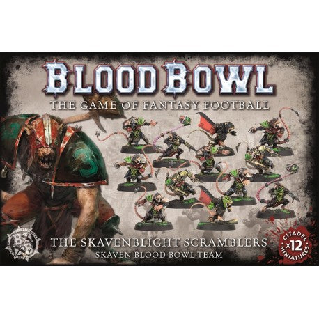 Warhammer Bloodbowl The Skavenblight scramblers Skaven team