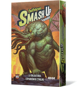 Smash Up La obligatoria expansión de Cthulhu
