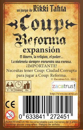 Coup Reforma: Expansion