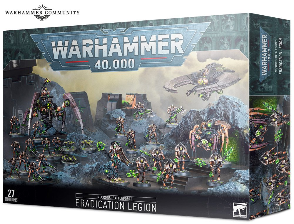 Warhammer 40000: Necrons Battleforce Eradication Legion