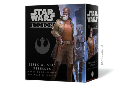 Star Wars Legión: Especialistas Rebeldes