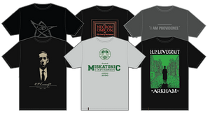 Camisetas H.P.Lovecraft Collection