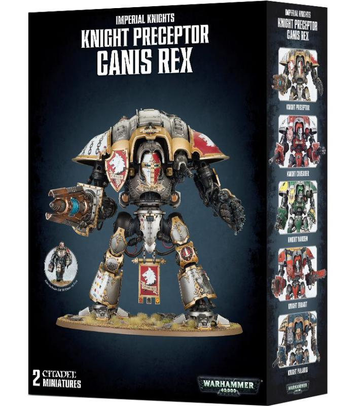 Warhammer 40000: Imperial Knights Knight Preceptor Canis Rex