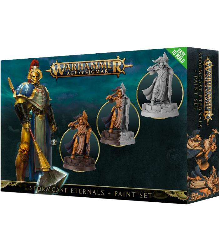 Warhammer Age of Sigma: Stormcast Eternals+Paint Set