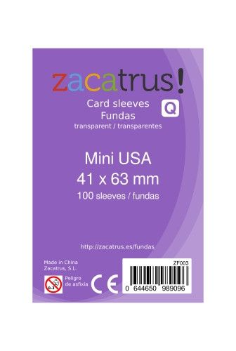 Fundas Zacatrus Mini Usa 100
