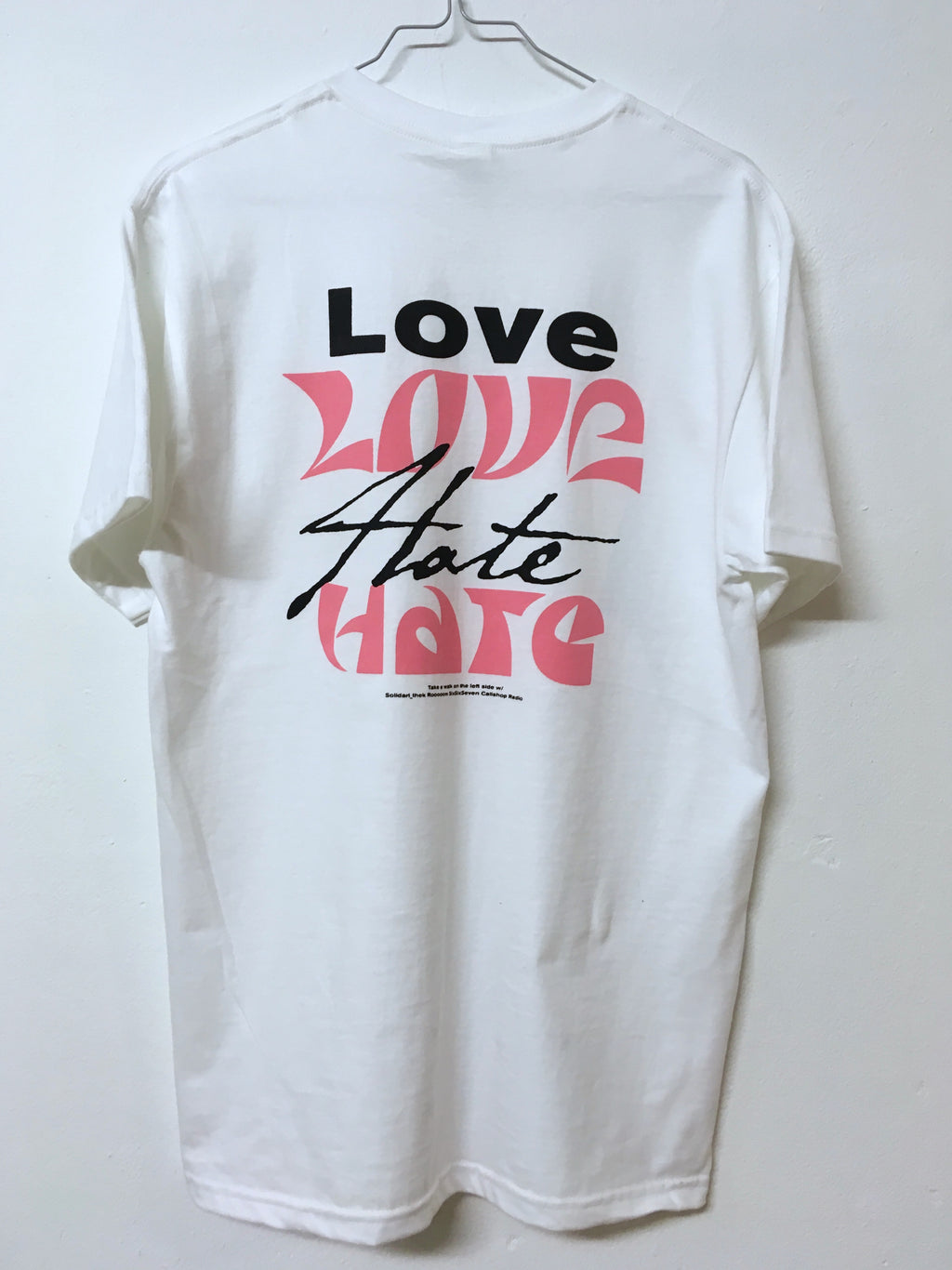 "Silence Kills - ""Love Love Hate Hate"" T-Shirt kurzärmlig"