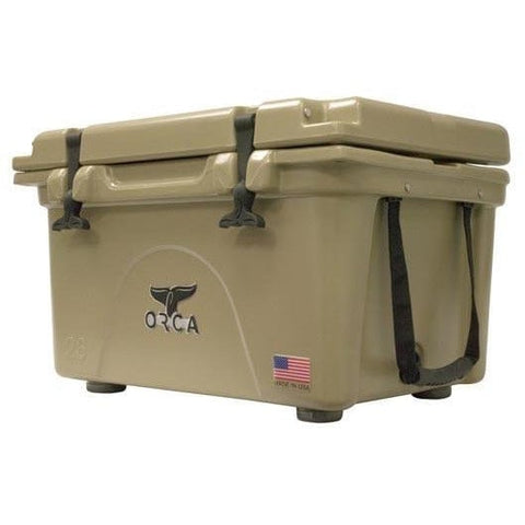 Tan - ORCA 26-Quart Cooler