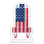 Load image into Gallery viewer, Orion Cooker American Flag Vinyl Decal