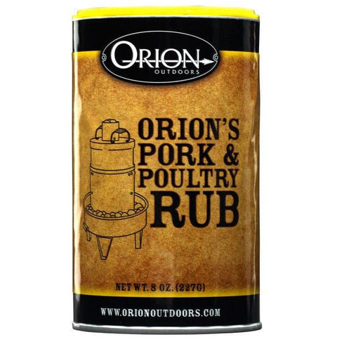 Orion Pork and Poultry Dry Rub 8 oz