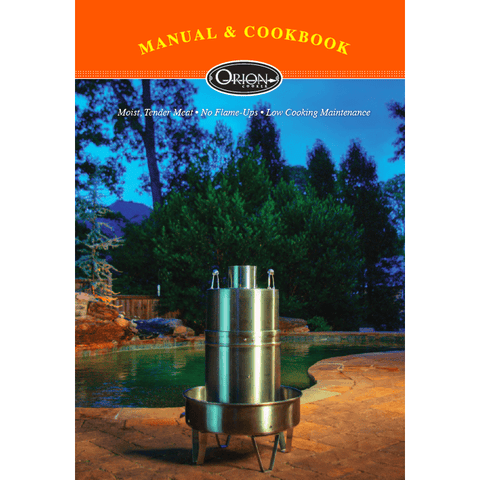 Orion Cooker Owner's Manual & Cookbook (Digital Copy PDF)