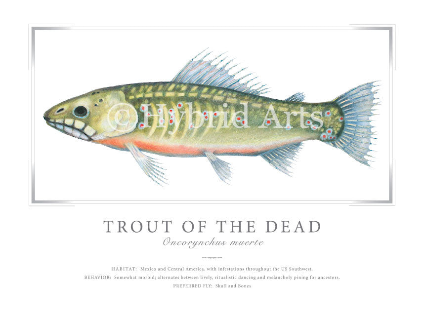 Trout of the Dead Print