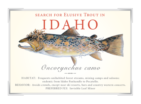 Idaho State Card