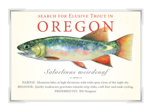 Oregon State Card