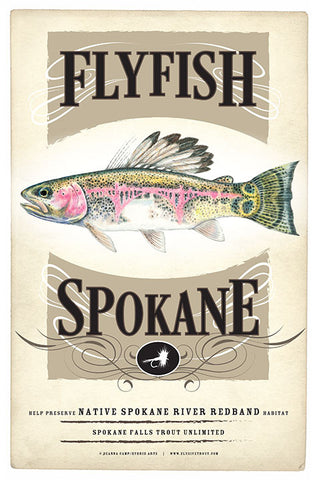Flyfish Spokane Poster