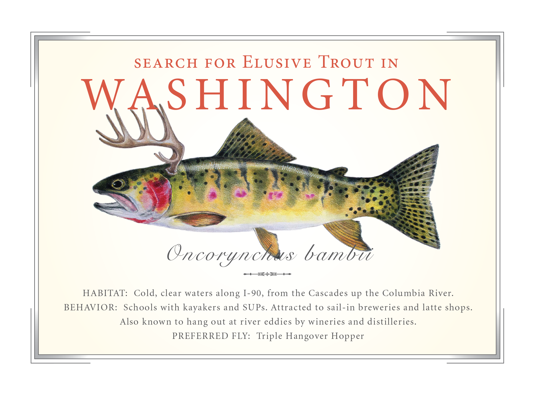 Washington State Card