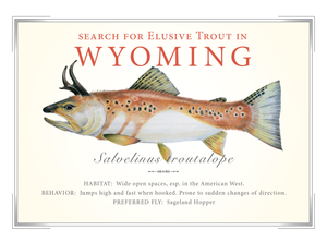 Wyoming State Card