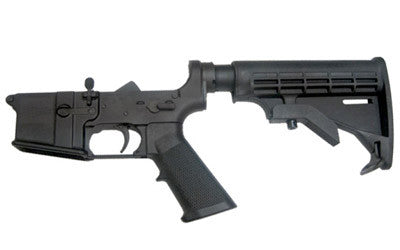 CMMG LOWER COMPLETE W/6-POS MIL-SPEC- CALIFORNIA LEGAL