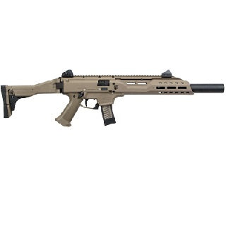 CZ SCORPION EVO Carbine 3 S1 Faux CALIFORNIA LEGAL - 9mm FDE