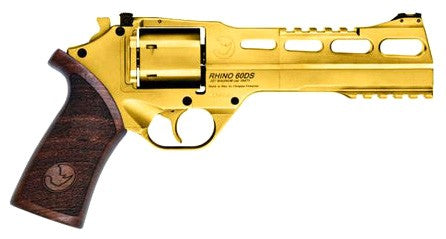 CHIAPPA RHINO 60DS 6inch/Gold CALIFORNIA LEGAL - .357