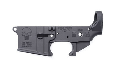 SPIKE'S TACTICAL STRIPPED PUNISHER LOWER- CALIFORNIA LEGAL