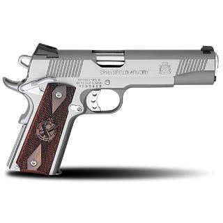 Springfield 1911 A1 Loaded Stainless CALIFORNIA LEGAL- .45ACP