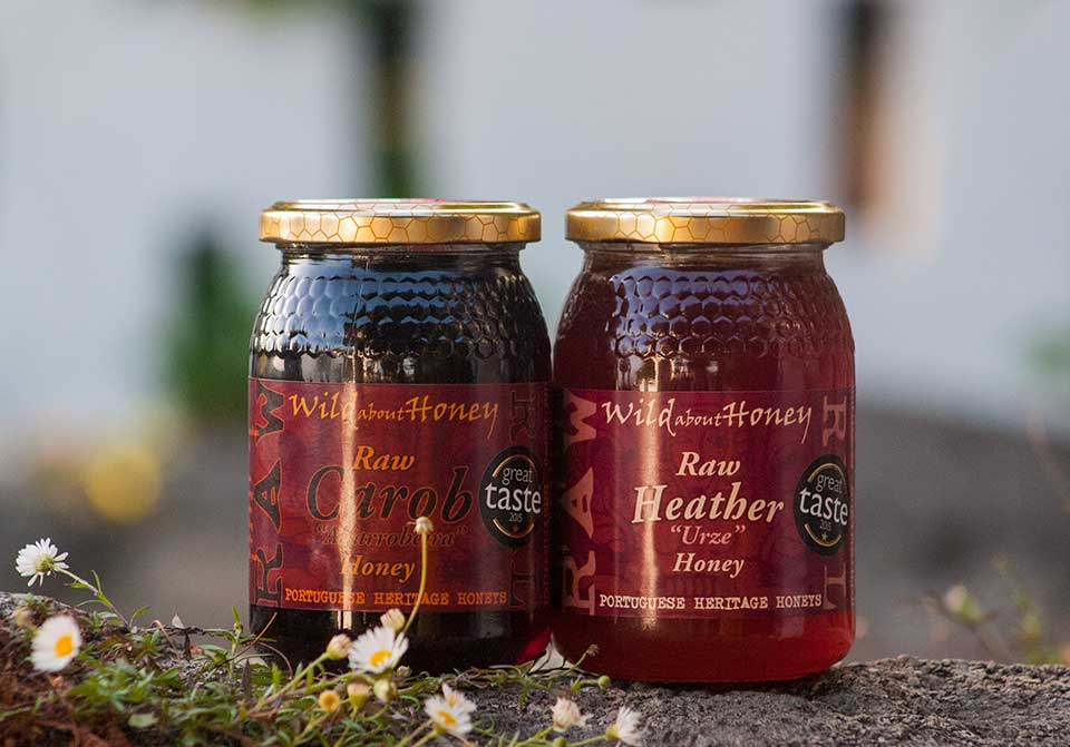 Carob and Heather Honey Great Taste 2015 winners