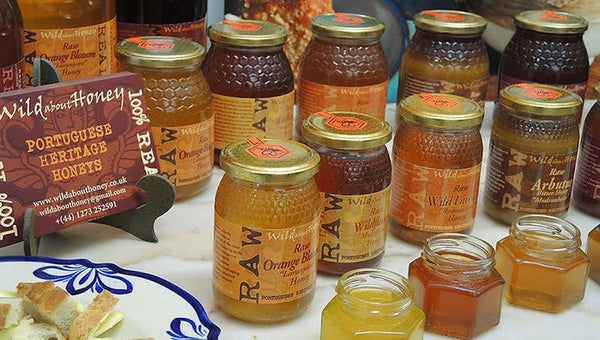 Raw Portuguese Heritage Honey by Wild about Honey