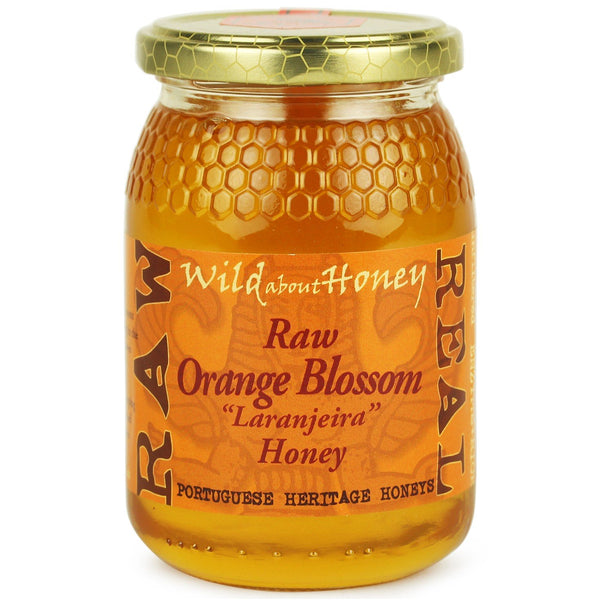 Raw Algarvian Orange Blossom Honey  2018- Laranjeira - by Wild about honey