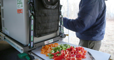 Mountain State Overland Review: TemboTusk Fridge Slide with Cutting Board