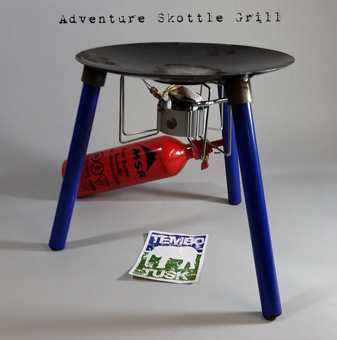 Premium Adventure Skottle Grill Kit