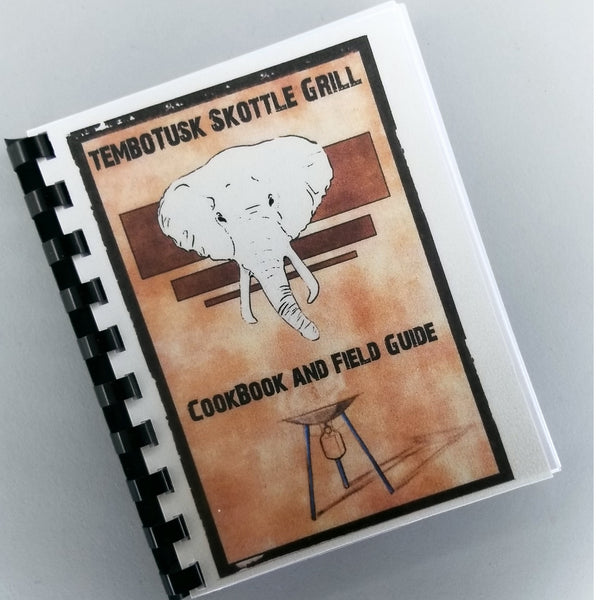 Skottle Grill Cookbook and Field Guide - Paperback Comb Binding