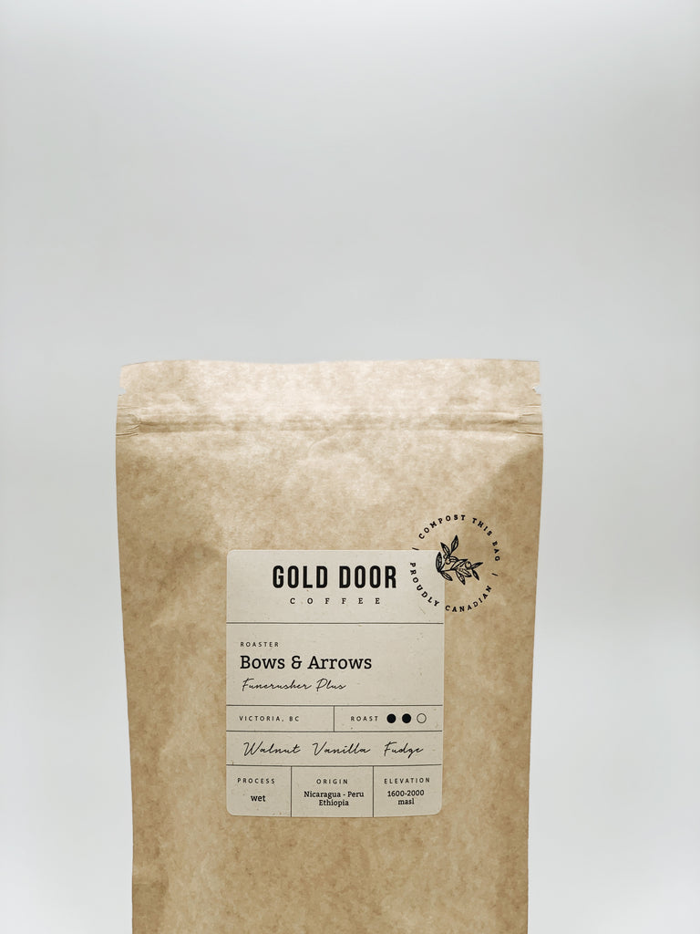 Gold Door Coffee Ltd. Zero-Waste Canadian Coffee Subscription Featured March Roaster Bows & Arrows Coffee